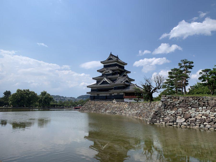 松本城と内堀
