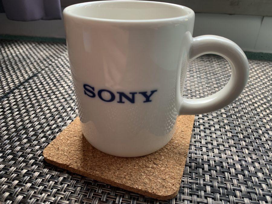 ソニーのマグカップ・ロゴマーク