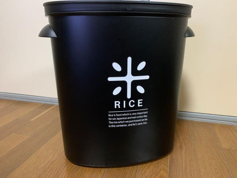 パール金属RICE お米袋のままストック5kg用のアイキャッチ