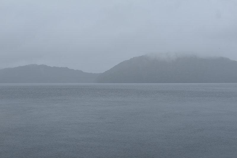 霧の十和田湖